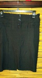 Sensational Black Stretch Skirt Sz S